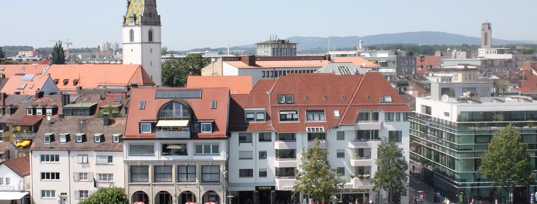 Promenade und Innenstadt von Friedrichshafen