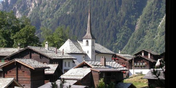 Blatten altes Dorf