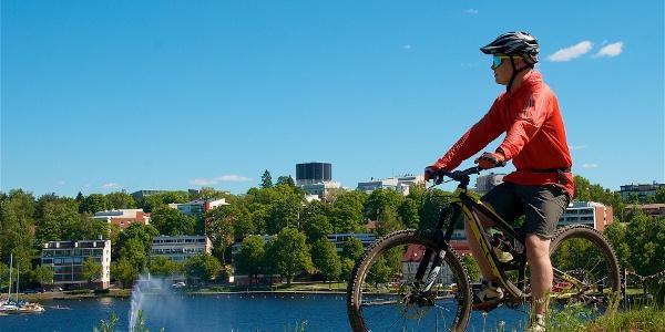 Велосипедный маршрут «Экскурсия по городу Лаппенранта»
