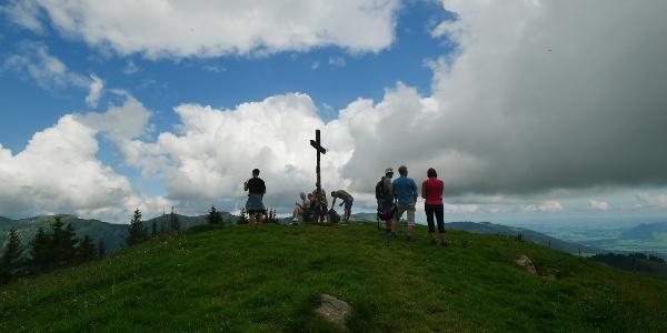 Gipfelkreuz am Rangiswanger Horn