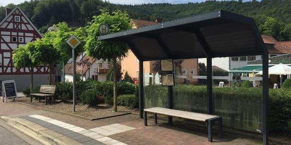 Bushaltestelle Schönau Ort