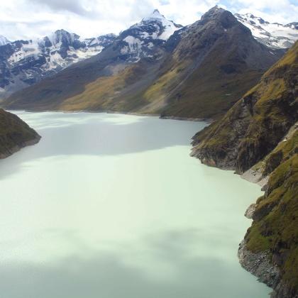 Stausee Lac de Dix