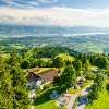 Aussicht vom Bachtel auf den Zürichsee, Hinwil