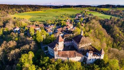Burg und Dorf Kyburg