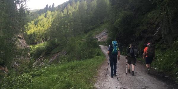 Wanderung zur Sticklerhütte