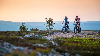 Mountain biking in Ylläs