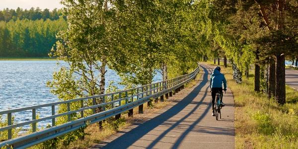 Radweg Taipalsaaren maisemapyöräilyreitti