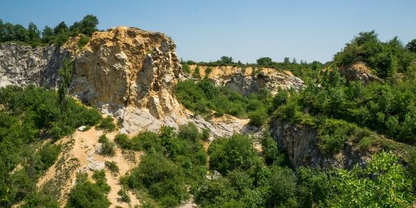 A két legfelső bányaudvar