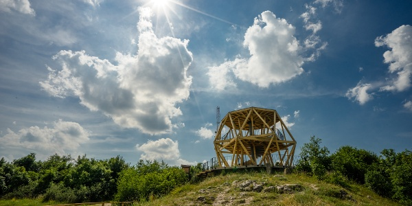 A summer afternoon at Guckler Károly lookout tower