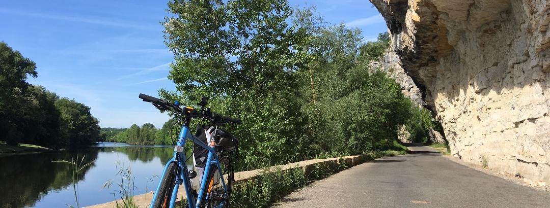 Les bords de la Dordogne dans le Lot