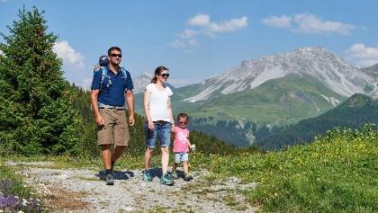 Familienwandern in Arosa