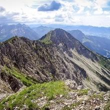Foto von Klettersteig: Salewa Klettersteig am Iseler Teil 1 und 2 • Allgäu (28.06.2018 16:46:09 #3)
