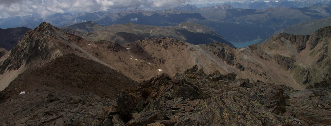 Gipfelpanorama - Westen