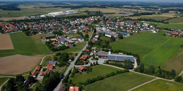 Luftbild  von Falkenberg