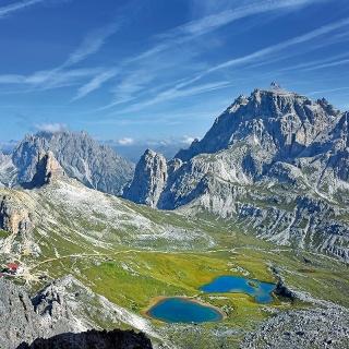 Lago Bödenseen e il Rifugio Antonio Locatelli