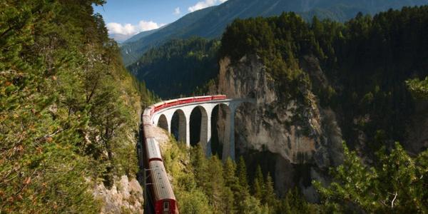 Rhätische Bahn Albula/Bernina