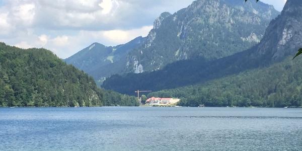 Alpsee and Neuschwanstein