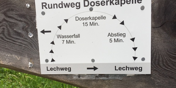 The Doser Waterfall Path