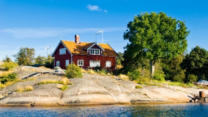 House in the archipelago