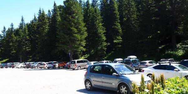 Parkplatz um 1658m