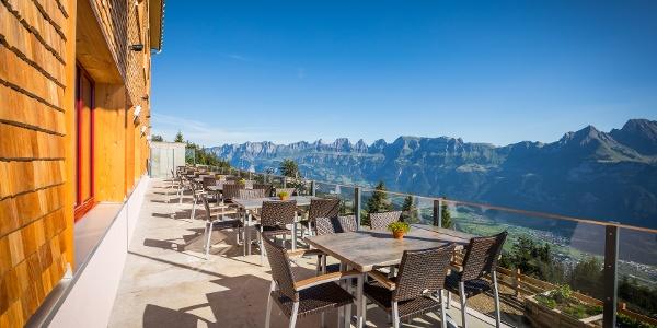 Terrasse Berghotel Schönhalden