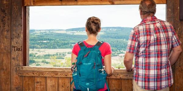 Aussicht vom Sternbergturm