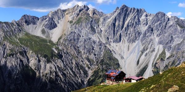 Die schön gelegene Kaltenberghütte
