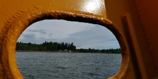 Gelbe Fähren sind meist kostenlos.