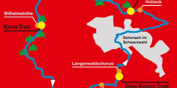 Flow Trail Rundstrecke Schonach