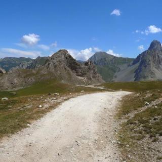 Piste du refuge della Gardetta au Colle del Preit : Rocca la Meja