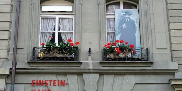 Einstein-Haus in der Kramgasse 49.