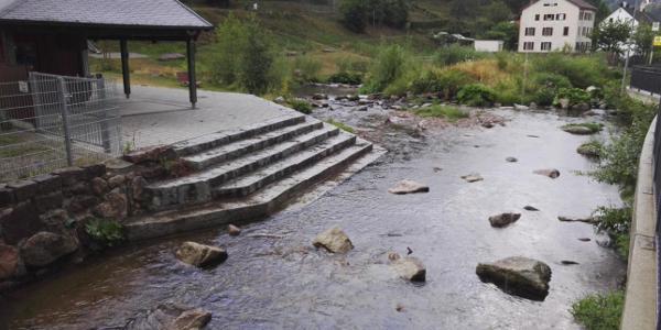 Schramberger Wasserspielplatz - Berneckstrand
