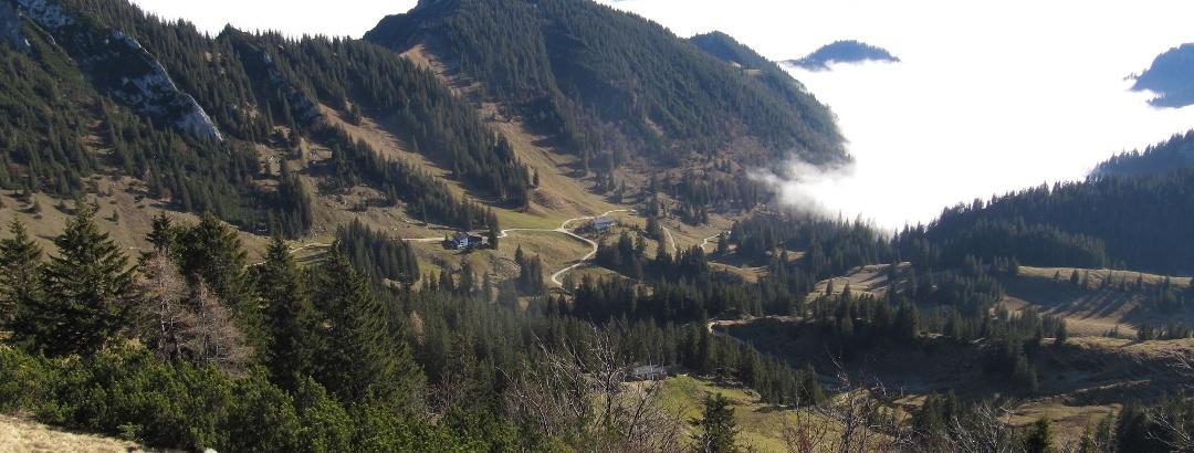 Zwischen Mühlhornwand und Wandspitz