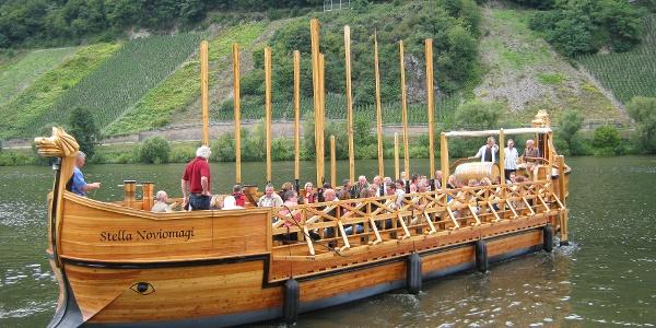 Stella Noviomagi: Römerschiff an der Mosel