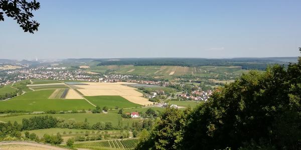 Aussicht auf das Weinsberger Tal