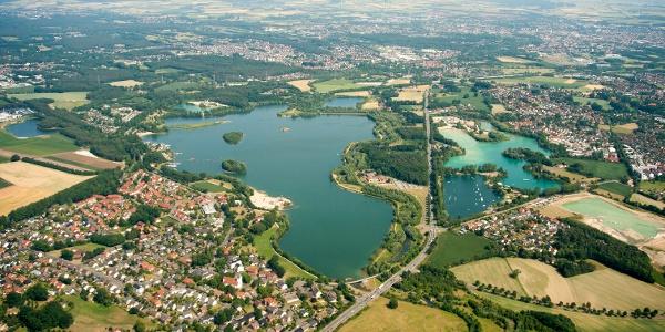 Luftbild: Paderborn-Sande und Lippesee