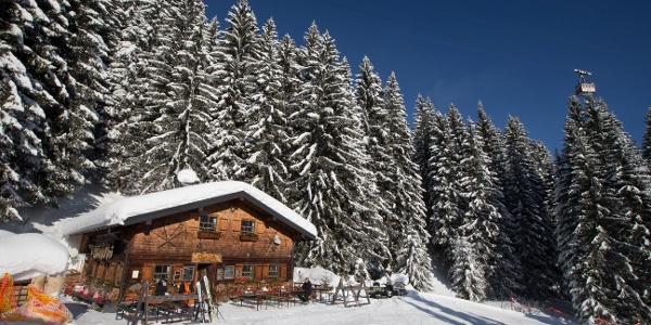 Max Hütte im Winter