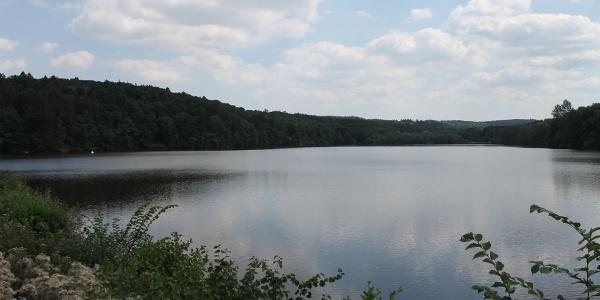 Blick auf den Möhnsee-Vorbecken