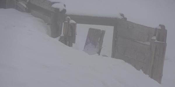 Gipfelbaracke vom 1. WK