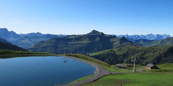 Uga-Alp-See - ein schönes Ausflugsziel
