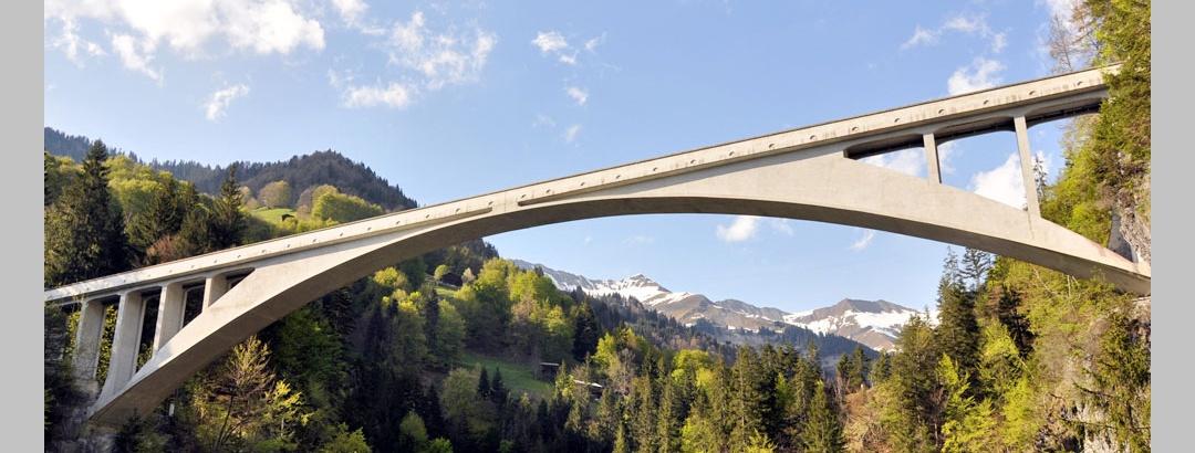 Weltmonument Salginatobelbrücke Schiers