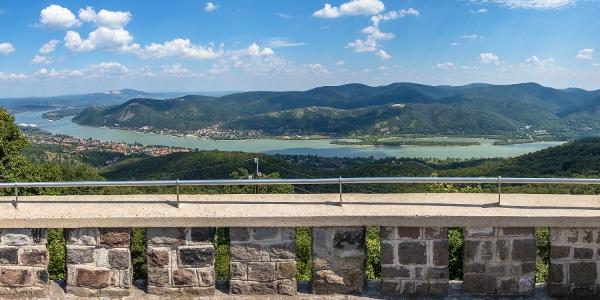Panorama aus dem Julianus-Aussichtsturm