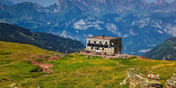 Spitzmeilenhütte.
