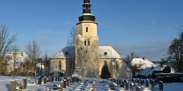 St. Marien im Winter