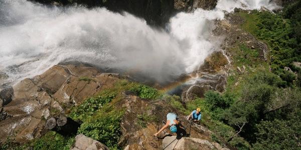 Klettersteig Stuibenfall
