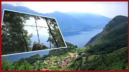 Rundwanderung Gardasee von Pregásina zur Nodice über die Scala Santa