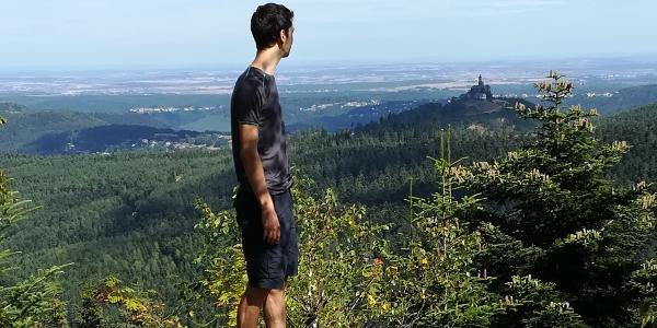 Vue sur le Rocher de Dabo