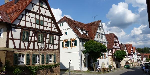 Lienzingen Knittlinger Straße