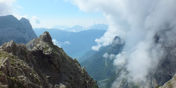 View on Lake Molveno