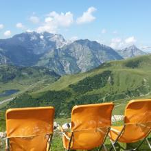 Panoramablick von der Widdersteinhütte
